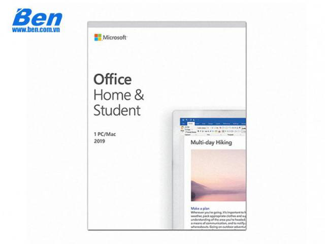 PM Microsoft Office Home and Student 2019 English APAC EM Medialess