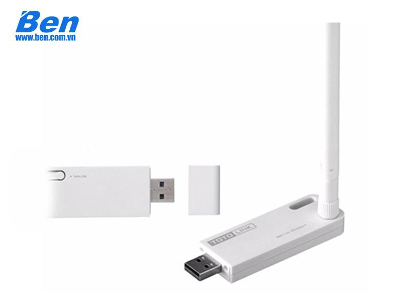 Card mạng TOTOLINK A1000UA Wireless Card USB, AC Dual Band (N 150Mbps & AC 433Mbps)