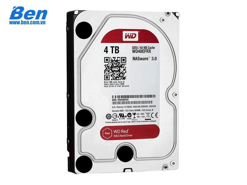 Ổ cứng gắn trong Western Red 4TB 3.5 SATA 3/ 64MB Cache/ 5400rpm