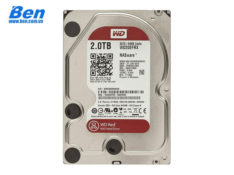 Ổ cứng gắn trong Western Red Pro 2TB 3.5 SATA 3/ 64MB Cache/ 7200rpm
