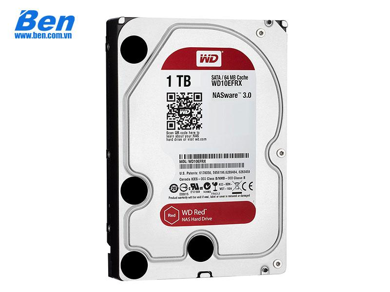 Ổ cứng gắn trong Western Red 1TB 5400rpm SATA 3/ 64MB Cache