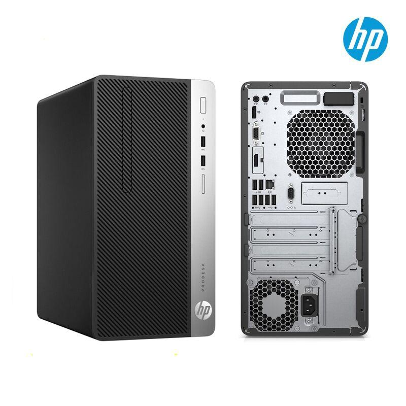 HP ProDesk 400 G6 MT (3K069PA)/ Black/ Intel core i5-9500 (3.00GHz, 9MB)/ Ram 8GB DDR4/ HDD 1TB/ DVDRW/ Intel UHD Graphics/ Key & Mouse/ DOS/ 1Yr