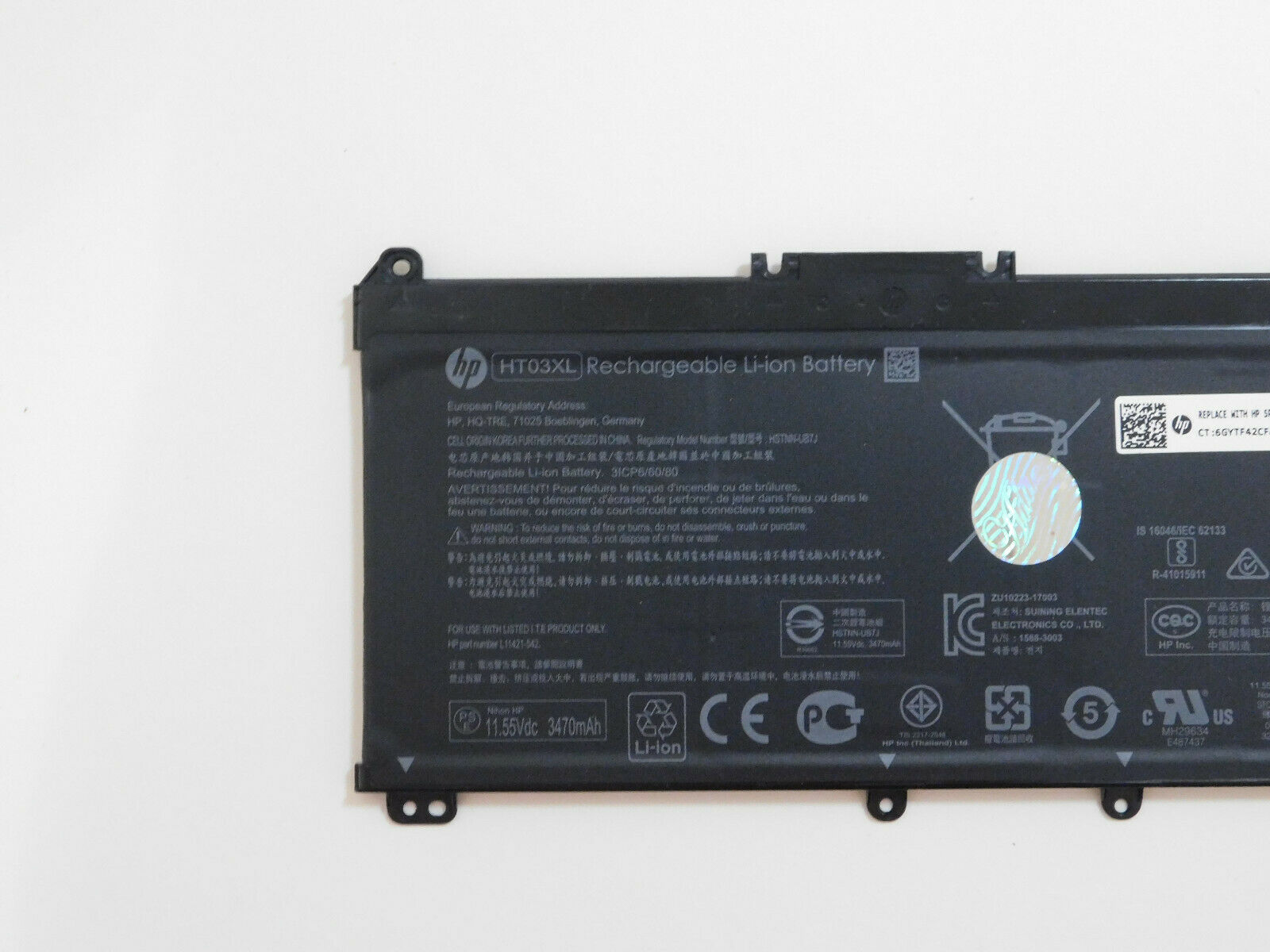 Pin - Battery for HP Pavilion 14-ce1014TU