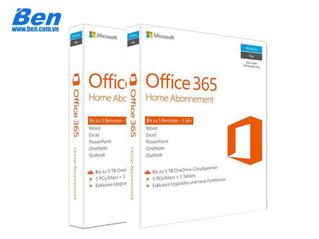 PM Microsoft Office 365 home Premium (6GQ-00018)