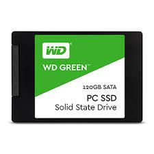 Ổ cứng gắn trong SSD Western Green 120GB Sata3 2.5 (WDS120G1G0A)