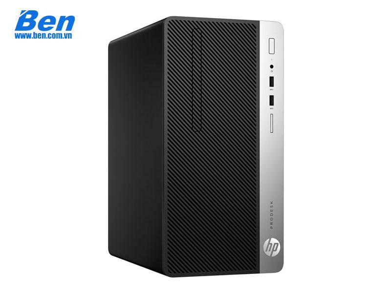 HP ProDesk 400 G5 Microtower PC (4ST29PA)/ Intel Core i5-8500 (3GHz, 9MB)/ Ram 4GB DDR4/ HDD 1TB / Intel UHD Graphics 630/ DVDRW/ USB Key & Mouse/ Free Dos/ 1Y