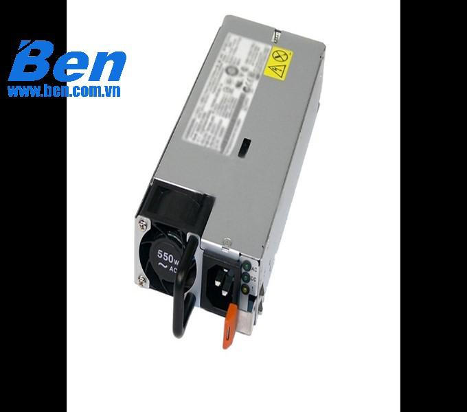 Nguồn máy tính IBM - 550 WATT HIGH EFFICIENCY PLATINUM AC POWER SUPPLY FOR X3650 M4