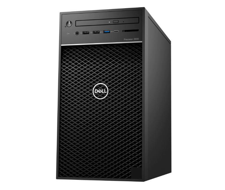 Dell Precision 3630 Tower (70172470)/ Intel Xeon E-2136 (3.3Ghz up to 4.5 GHz,12 MB)/ 2x4GB RAM/ 1TB HDD/ Nvidia Quadro P620 2GB 4mDP to DP adapter/ DVDRW/ HDMI Port/ Keyboard + Mouse/ Ubuntu/ 3Y