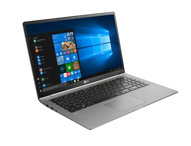 Laptop LG 15Z980-G. AH55A5/ Grey/ Intel core i5-8250U (1.60 GHz, 6 MB)/ Ram 8GB DDR4/ 512GB SSD M.2/ Intel HD Graphics 620/ 15.6 Inch FHD IPS/ FP/ BT/ 4 Cell/ Led Kb/ Win 10 SL/ 1Yr