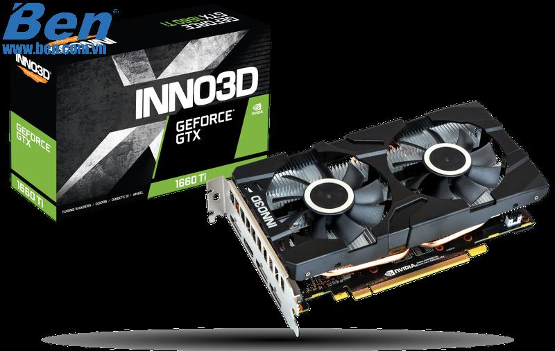 Card màn hình INNO3D GEFORCE GTX 1660Ti TWIN X2 /6GB GDDR6