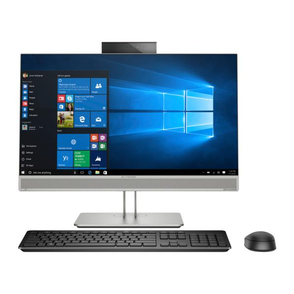 All in one HP EliteOne 800 G5 (8GA59PA)/ Silver/ Intel core i5-9500 ( 3.00GHz, 9MB)/ Ram 8GB/ HDD 1TB/ Intel UHD 630/ 23.8 Inch FHD Touch + IPS/ DVDRW/ Key + Mouse/ WIN 10Pro/ 3 Yrs