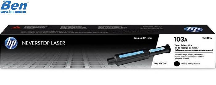 Hộp mực máy in HP 103A Blk Neverstop Toner Reload Kit - 2500 pages _ W1103A