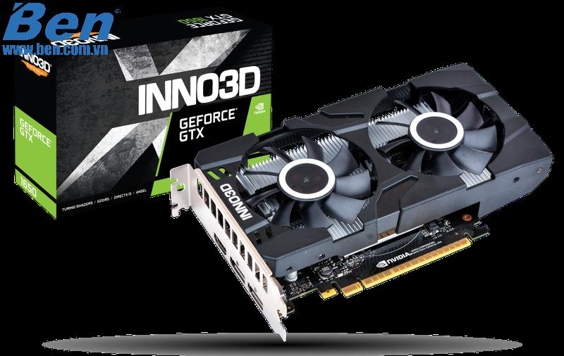 Card màn hình INNO3D GEFORCE GTX 1650 TWIN X2 OC/ 4GB GDDR5 (N16502-04D5X-1510VA25)