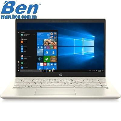 Laptop HP Pavilion 14-ce3018TU (8QN89PA)/ Gold/ Intel core i5-1035G1 (1.00 GHz, 6MB)/ Ram 4GB/ SSD 256GB/ Intel UHD Graphics/ 14 Inch FHD/ 3Cell/ WIN 10H/ 1Yr