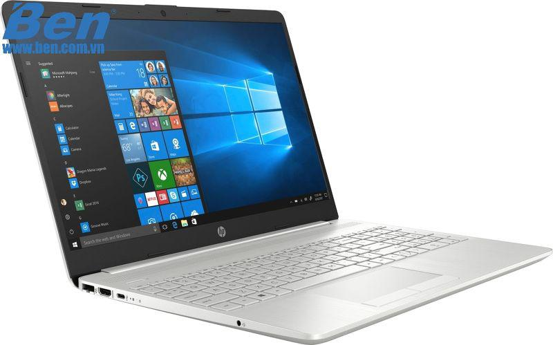 Laptop HP 15s-du1037TX (8RK37PA)/ Silver/ Intel Core i5-10210U/ Ram 8GB/ SSD 512GB/ NVIDIA GeForce MX130/ 15.6 inch HD/ 3cell/ Win 10H/ 1Yr