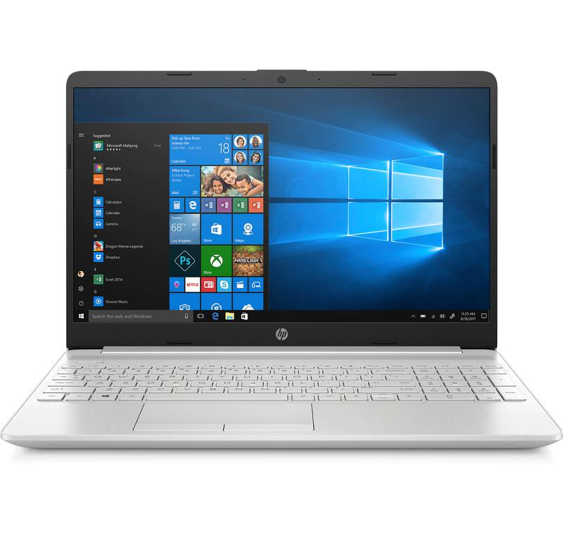 Laptop HP 15s-du1040TX (8RE77PA)/ Silver/ Intel Core i7-10510U/ Ram 8GB/ SSD 512GB/ NVIDIA GeForce MX130/ 15.6 inch HD/ 3cell/ Win 10H
