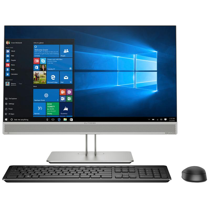 All in one HP EliteOne 800 G5 (8GD03PA)/ Intel core i5-9500 ( 3.00GHz, 9MB)/ Ram 8GB/ SSD 256GB/ Intel UHD Graphics/ 23.8 Inch FHD/ DVD/ WL Key + Mouse/ WIN 10H/ 1Yr