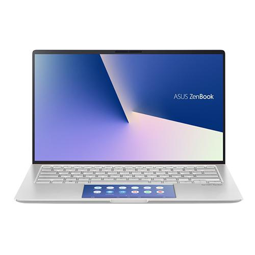 Laptop Asus Zenbook UX434FLC-A6212T/ Silver/ Intel core i5-10210U (1.6GHz, 6MB)/ Ram 8GB/ SSD 512GB/ NVIDIA Geforce MX250 2GB GDDR5/ 14 inch FHD/ Win 10/ 2Yrs