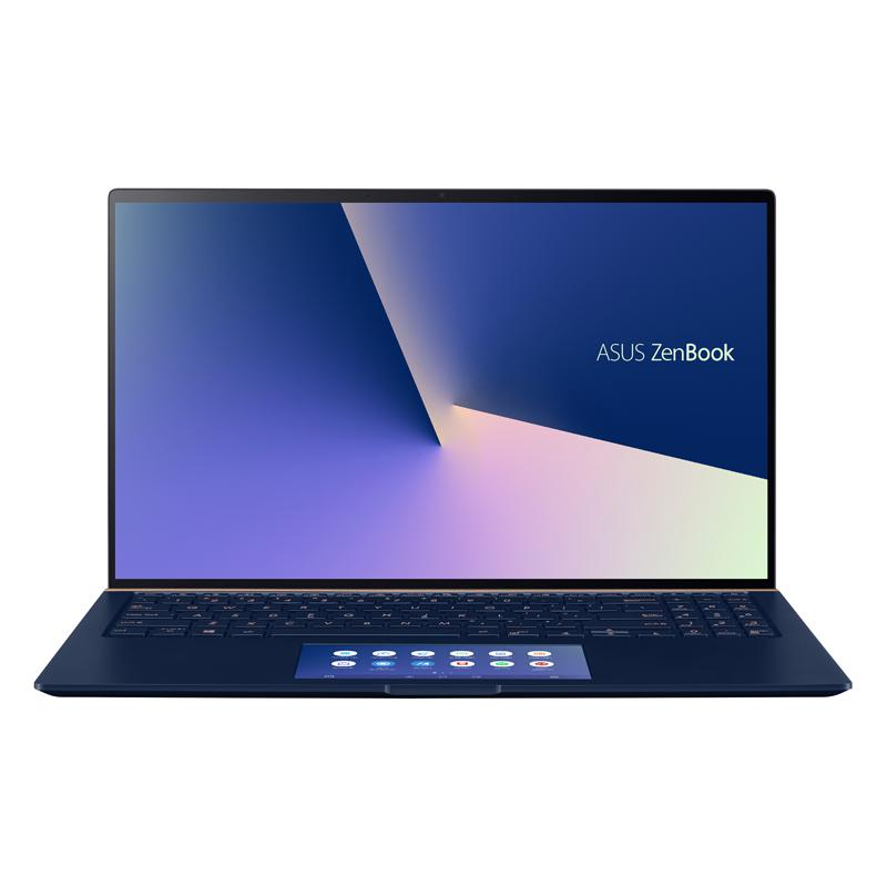 Laptop Asus Zenbook UX534FTC-AA189T/ Blue/ Intel Core i7-10510U (1.8GHz, 8MB)/ Ram 16GB/ SSD 1TB/ NVIDIA Geforce GTX1650 4G GDDR5/ 15.6 inch UHD/ 8cell/ Win 10/ 2Yrs