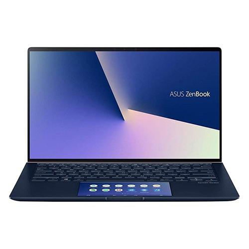 Laptop Asus Zenbook UX434FAC-A6064T/ Blue/ Intel Core i5-10210U (1.6GHz, 6MB)/ Ram 8GB/ SSD 512GB/ Intel UHD Graphics/ 14 inch FHD/ 3cell/ Win 10/ 2Yrs