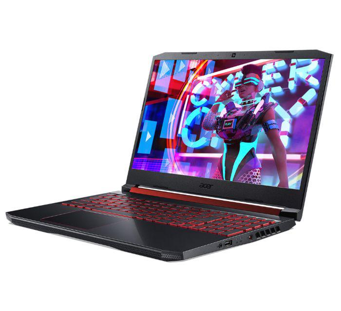 Laptop ACER Nitro AN515-54-76RK (NH.Q59SV.023)/ Black/ Intel core  i7-9750H ( 2.60Ghz, 12MB)/ Ram 8GB/ SSD 512GB/ NVIDIA GeForce GTX1650 4GB GDDR5/ 15.6 inch FHD/ Win 10SL/ 1Yr