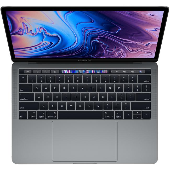 Laptop Apple Macbook Pro MV972SA/A/ Space Grey/ 2.4GHz quad-core 8th Intel Core i5/ Ram 8GB/ SSD 512GB/ Intel Iris Plus Graphics 655/ 13.3 inch/ Mac OSX/ 1Yr