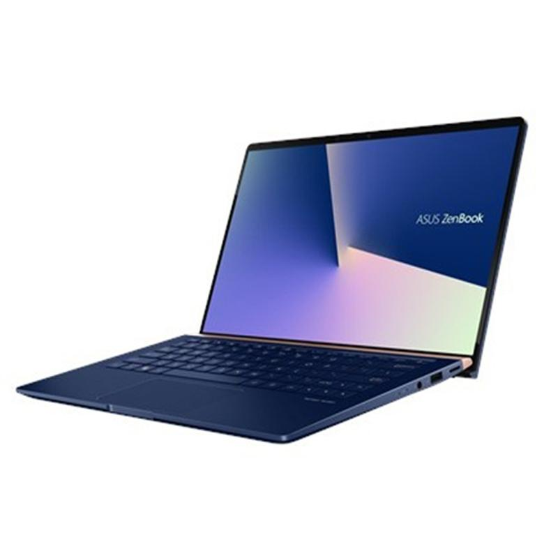 Laptop Asus Zenbook UX434FLC-A6143T/ Blue/ Intel Core i5-10210U (1.60GHz, 6MB)/ Ram 8GB/ SSD 512GB/ 14.0 inch FHD/ Geforce MX250 2GB GDDR5/ Win 10/ 2Yrs