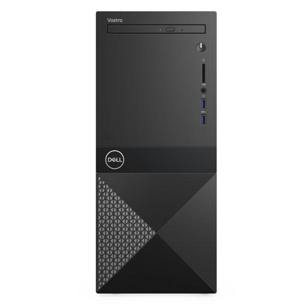 PC Dell Vostro 3671 (42VT370047)/ Intel Core i3-9100 (3.60GHz, 6MB)/ Ram 4GB (1x4GB) DDR4/ HDD 1TB/ Intel UHD Graphics/ Key & Mouse/ Tray load DVD Drive/ Windows 10 Home Single Language English/ 3Yrs