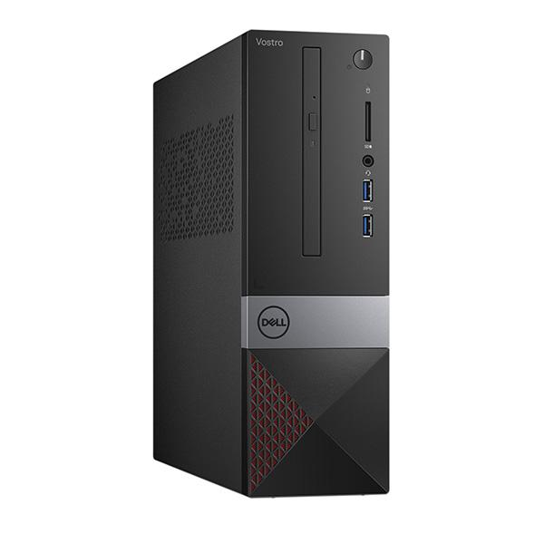 PC Dell Vostro 3471ST PDC (46R631W)/ Black/ Intel Pentium Gold G5420 (3.80GHz, 4MB)/ Ram 4GB DDR4/ HDD 1TB/ DVDRW/ Intel UHD Graphics/ Mouse & Key/ Win 10SL/ 1Yr