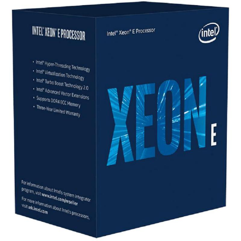 Bộ vi xử lý CPU Intel Xeon E-2186G (3.8 GHz Turbo up to 4.7GHz / 12MB / 6 Cores, 12 Threads) - LGA 1151