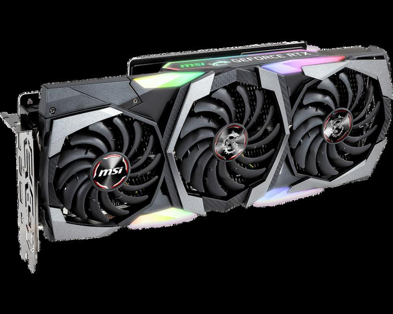 Card màn hình MSI RTX 2080 Super GAMING X TRIO 8G
