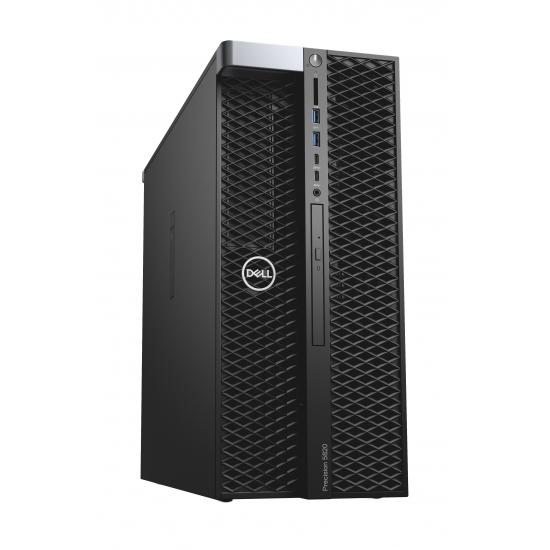 Dell Precision (Workstation) 5820 Tower (70203579)/ Intel Xeon W-2104 (3.20GHz, 8.25 MB)/ Ram 16GB (2x8GB)/ SSD 256GB + HDD 1TB/ DVDRW/ VGA 2GB NVIDIA Quadro P620/ Key & Mouse/ Win 10 Pro/ 3Yrs