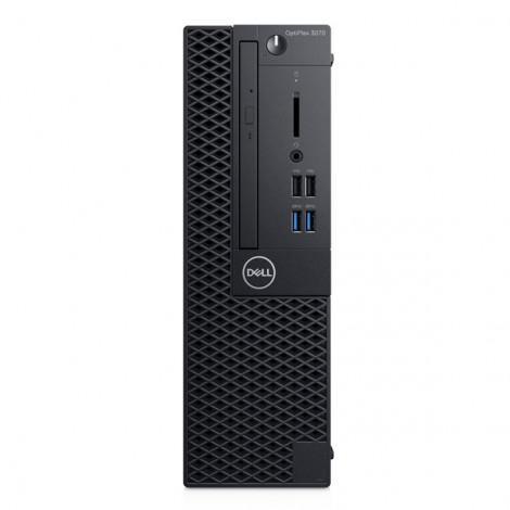 Dell OptiPlex 3070 SFF (70205792)/ Intel Core i3-9100 (3.60GHz, 6MB)/ Ram4GB DDR4/ HDD 1TB/ Intel UHD Graphics/ DVDRW/ Key & Mouse/ Fedora/ 3Yrs