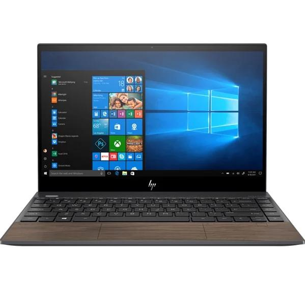 Laptop  HP Envy 13-aq1047TU (8XS69PA)/ Black/ WOD/ Intel Core i7-10510U/ Ram 8GB DDR4/ SSD 512GB/ 13.3 inch FHD/ FP/ 4 Cell/ Win 10SL