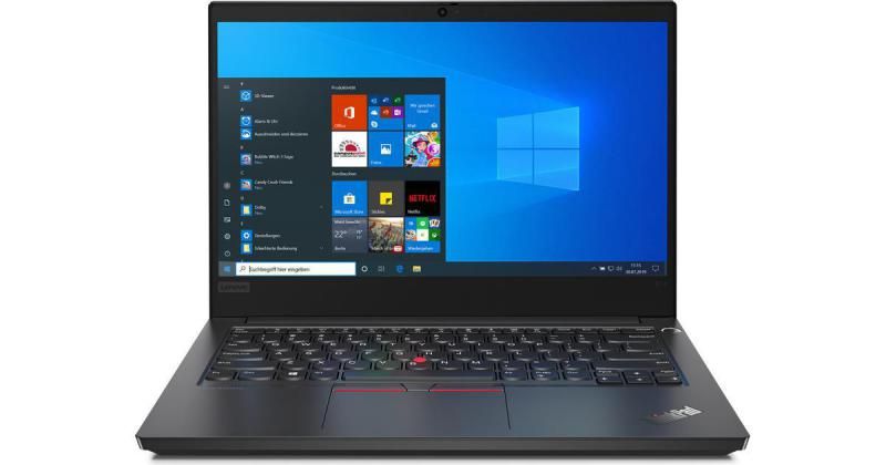Laptop Lenovo ThinkPad E14 (20RAS0KX00)/ Intel core i5-10210U (1.60GHz, 6MB)/ Ram 8GB DDR4/ SSD 256GB/ Intel UHD Graphics/ 14.0 Inch FHD IPS/ FP/ 3Cell/ No OS/ 1Yr