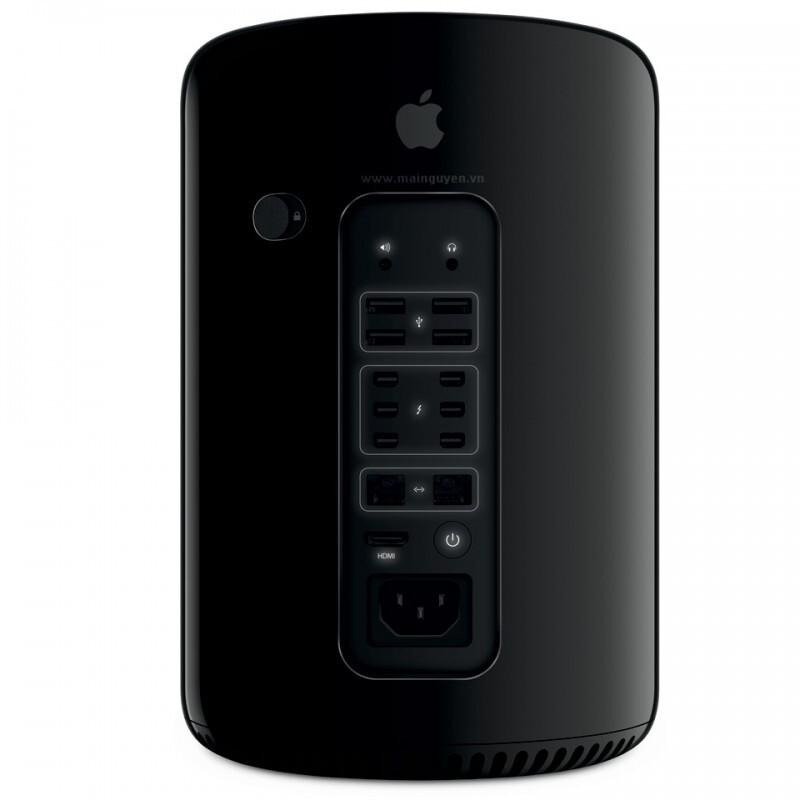 PC Apple MacPro MD878ZP/A/ 3.5GHz 6-core with 12MB of L3 cache/ Ram 16GB (4x4GB) DDR3/ SSD 256GB/ Dual AMD FirePro D500 3GB GDDR5/ Mac OSX/ 1Yr