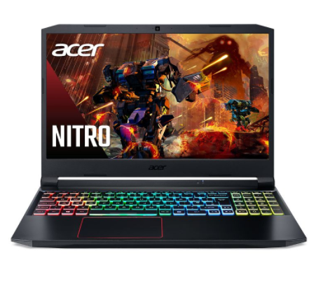 Laptop Acer Nitro 5 AN515-55-73VQ (NH.Q7RSV.001)/ Black/ Intel Core i7-10750H (2.60GHz, 12MB)/ Ram 8GB/ SSD 512GB/ Nvidia GeForce GTX1650 4GB/ 15.0 inch FHD IPS/ Win10/ 1Yr