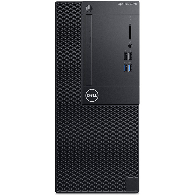 Dell OptiPlex 3070 Minitower (3070MT-i391-8G1TB3Y)/ Intel Core i3-9100 (3.60GHz, 6MB)/ Ram 8GB DDR4/ HDD 1TB/ DVDRW/ Intel UHD Graphics/ Fedora/ 3Yrs
