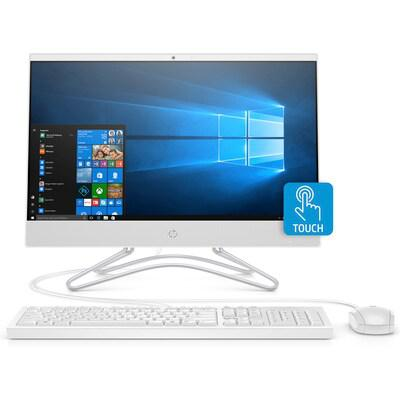 All in one HP 22-c0120d (5QC38AA)/ White/ Intel core i3-9100T (3.10GHz, 6MB)/ Ram 4GB DDR4/ HDD 1TB/ DVDRW/ Intel UHD Graphics/ 21.5 FHD Touch/ Key & Mouse/ Win 10SL/ 1Yr