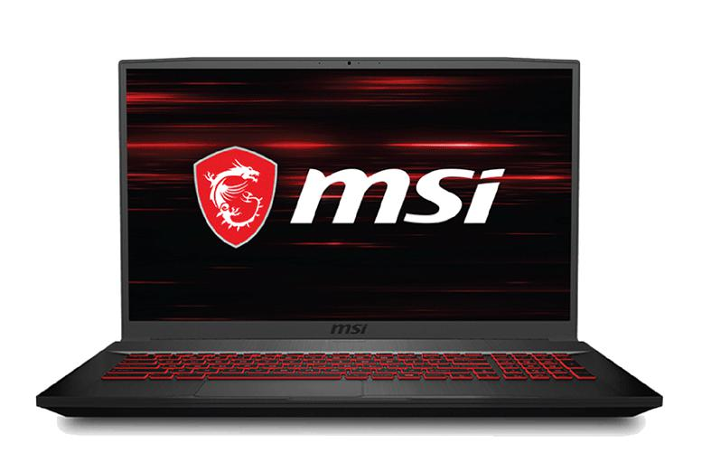 Laptop MSI GF75 Thin 10SCSR (208VN)/ Intel Core i7-10750H/ Ram 8GB DDR4/ SSD 512GB/ Geforce GTX1650 Ti 4GB GDDR6/ 17.3 inch FHD 144Hz/ 3Cell/ Win 10H
