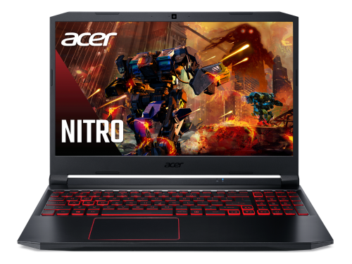 Laptop Acer Nitro 5 AN515-55-55E3 (NH.Q7QSV.002)/ Black/ Intel core i5-10300H (2.50GHz, 8MB)/ RAM 16GB DDR4/ SSD 512GB/ GeForce RTX 2060 6G/ 15.6 inch FHD IPS 144Hz/ Win 10H/ 1Yr