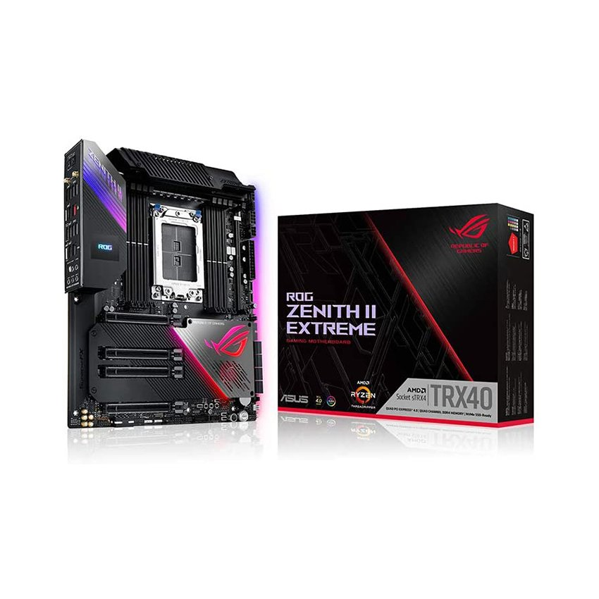 Bo mạch chủ Mainboard ASUS ROG ZENITH II EXTREME TRX40
