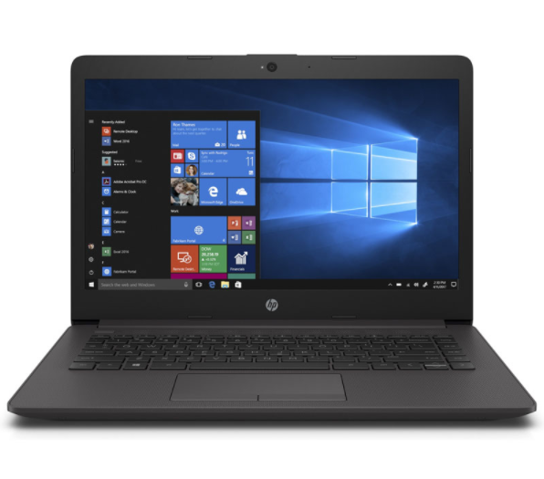 Laptop HP 245 G7 (1E7F5PA)/ Black/ AMD Ryzen R3-3300U/ Ram 4GB/ SSD 256GB/ AMD Radeon Graphics/ 14.0 inch HD/ 3Cell/ Win10H/ 1Yr