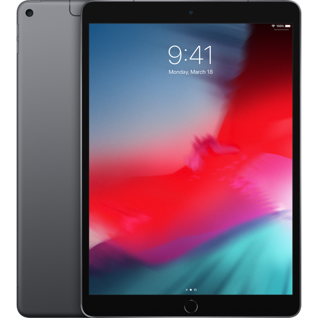 Máy tính bảng Apple 10.5-inch iPad Air Wi-Fi + Cellular 64GB - Space Grey MV0D2ZA/A