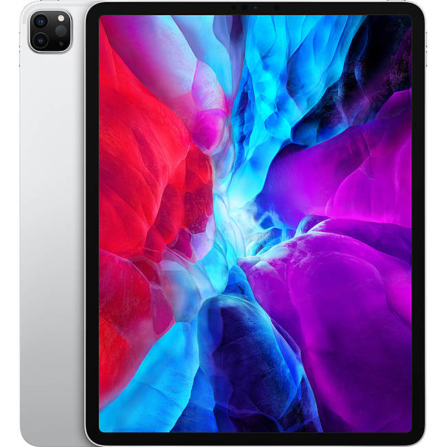 Máy tính bảng Apple iPad Pro 12.9 2020 4th-Gen 128GB Wifi Cellular - Silver (MY3D2ZA/A)