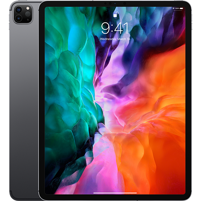 Máy tính bảng Apple iPad Pro 12.9 2020 4th-Gen 256GB Wifi Cellular - Space Gray (MXF52ZA/A)