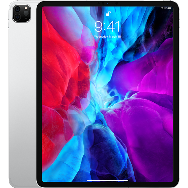 Máy tính bảng Apple iPad Pro 12.9 2020 4th-Gen 512GB Wifi Cellular - Silver (MXF82ZA/A)