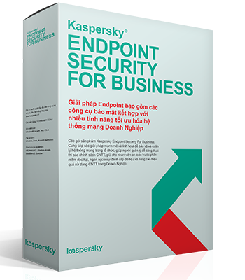 Phần mềm Kaspersky Endpoint Security for Business - Select - 1 năm