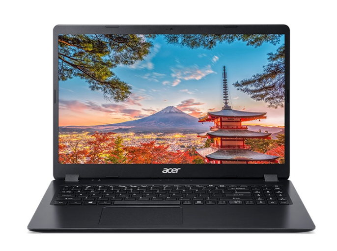 Laptop Acer Aspire 3 A315-34-P26U(NX.HE3SV.00H)/ Black/ Intel Pentium Silver N5030/ Ram 4GB DDR4/ SSD 256GB/ 15.6 inch HD 60Hz/ WC/ Win 10H/ 1Yr