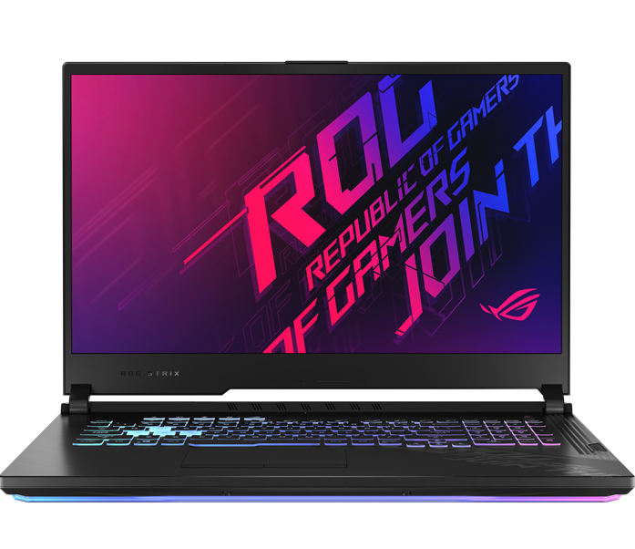 Laptop Asus Gaming ROG STRIX G712L-VEV055T/ Black/ Intel core i7-10750H/ Ram 16GB DDR4/ SSD 512GB/ RTX 2060 6GB GDDR6/ 17.3 inch FHD 144Hz/ 4Cell/ Win 10SL/ 2Yrs
